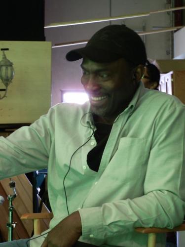 On the set of Nasambu's Music Video